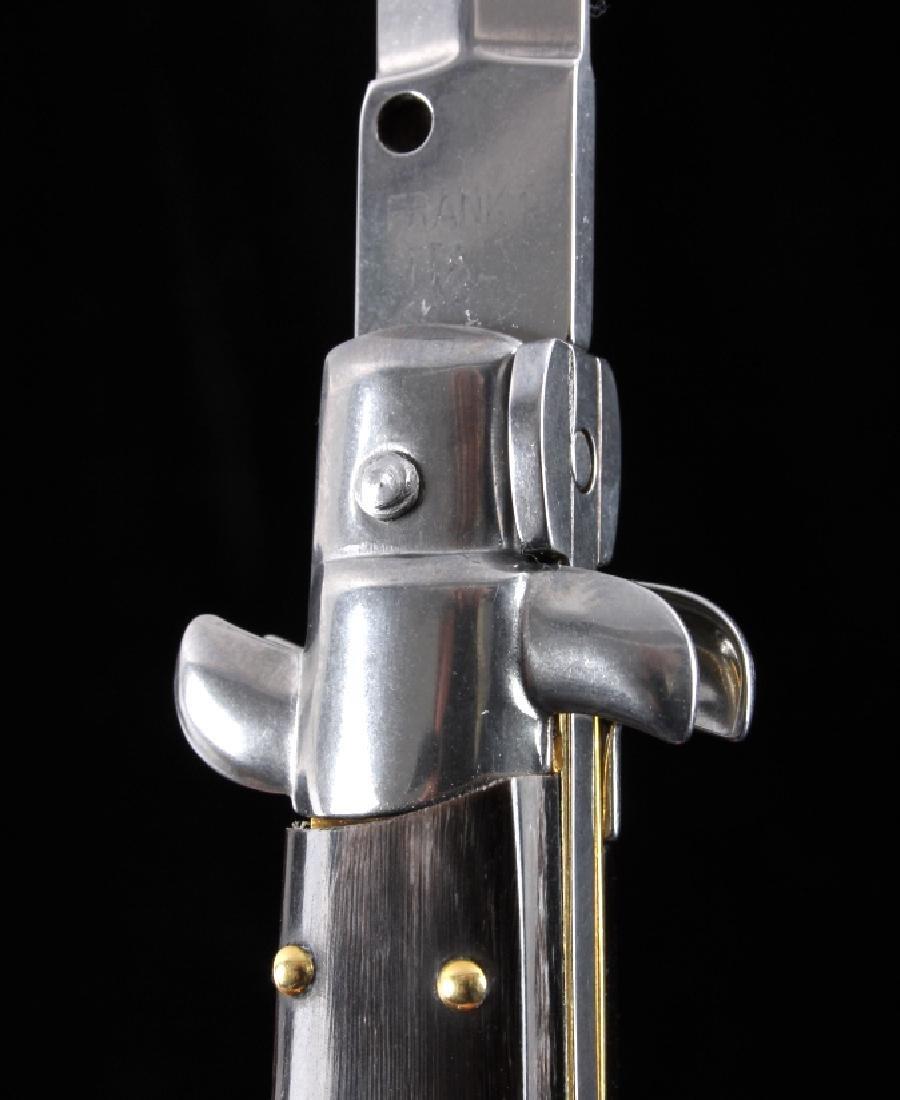 Frank Beltrame Italian Stiletto Switchblade Knife - 7