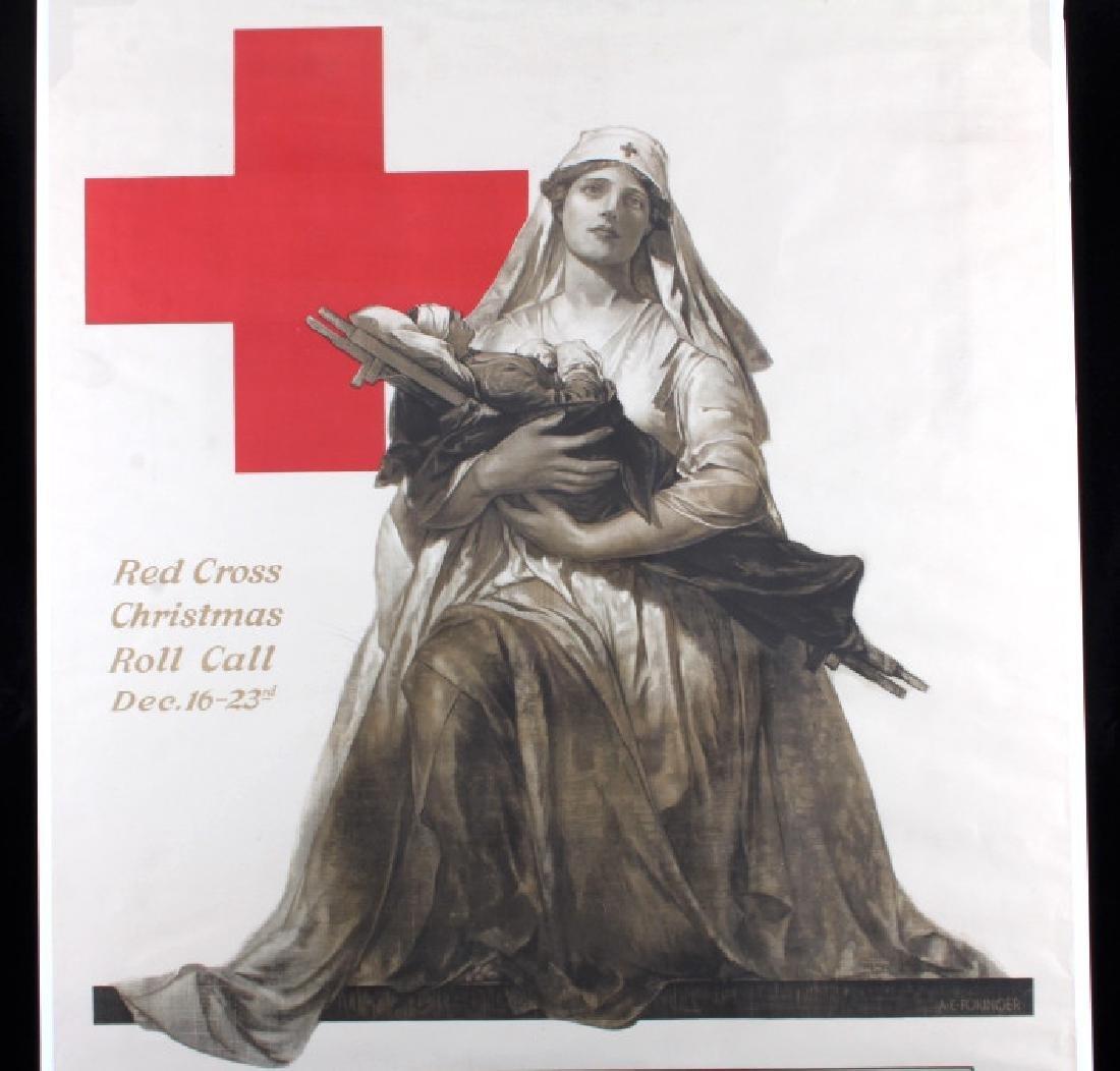 Original WWI American Red Cross Poster - 3