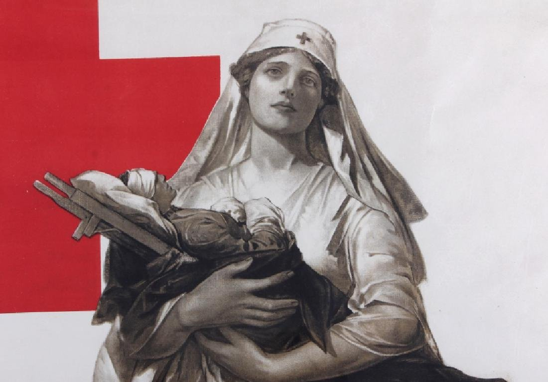 Original WWI American Red Cross Poster - 4