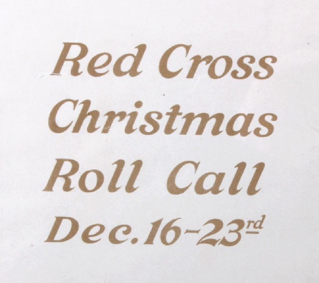 Original WWI American Red Cross Poster - 5
