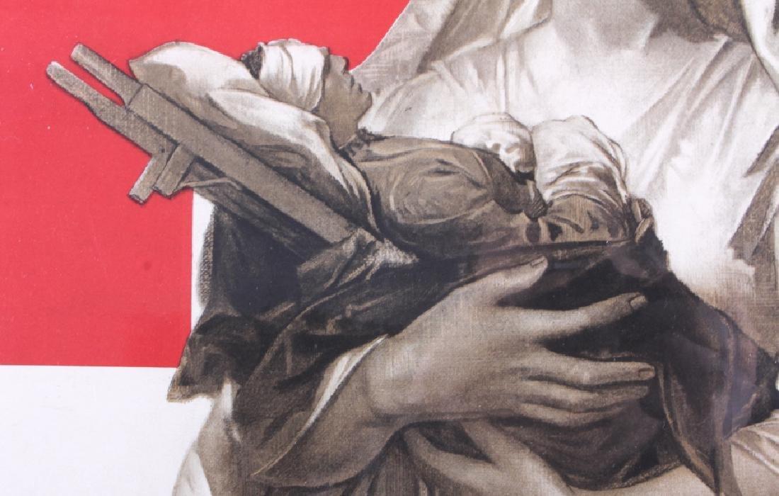 Original WWI American Red Cross Poster - 6