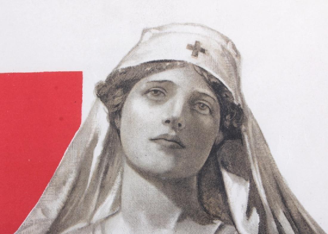 Original WWI American Red Cross Poster - 7