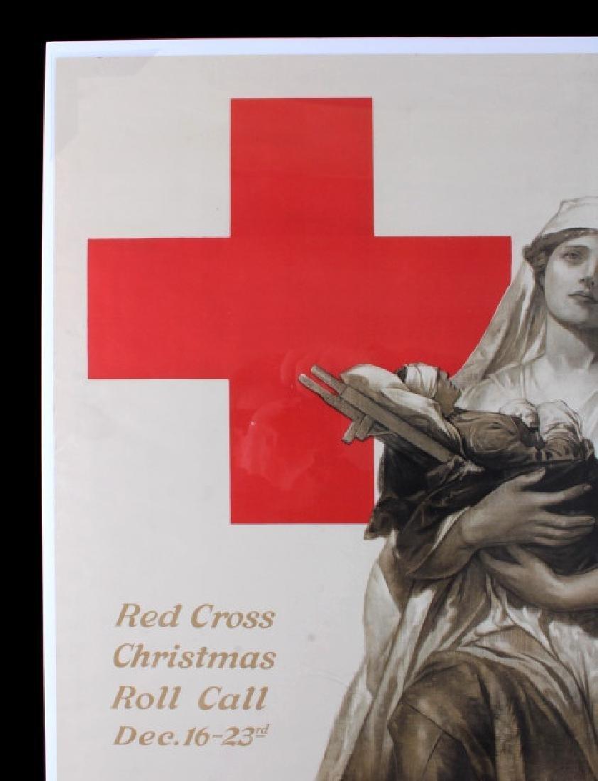 Original WWI American Red Cross Poster - 8