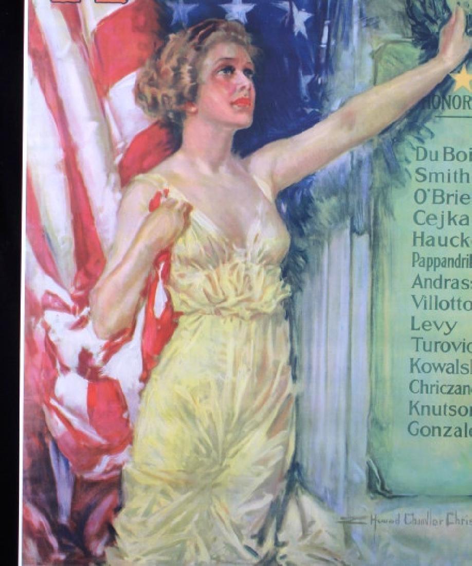 Original WWI Victory Liberty Loan War Bond Poster - 3