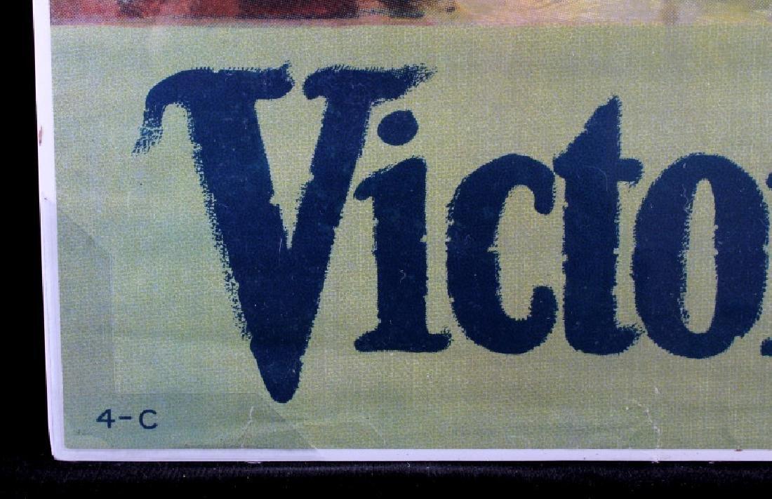 Original WWI Victory Liberty Loan War Bond Poster - 7
