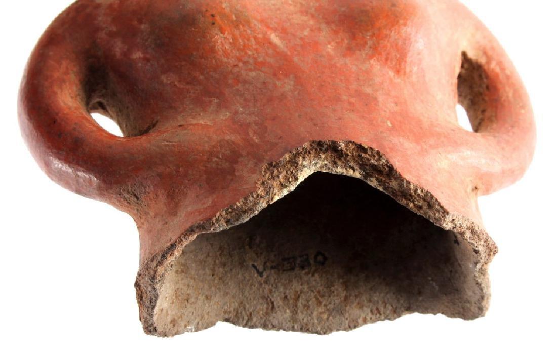 Pre-Columbian Mayan Pottery Figure circa 500 A.D. - 4