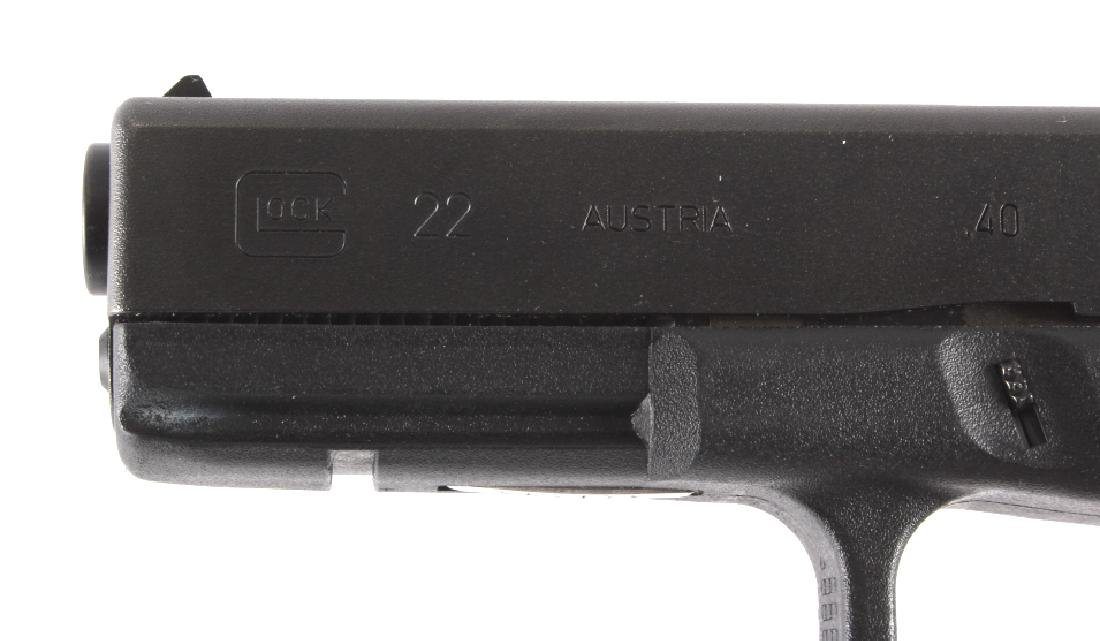 Glock Model 22 .40 Semi-Automatic Pistol - 3
