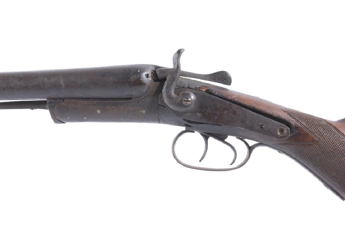 T. Barker 12 Gauge Side By Side Shotgun - 10