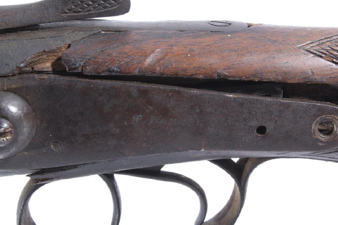 T. Barker 12 Gauge Side By Side Shotgun - 11