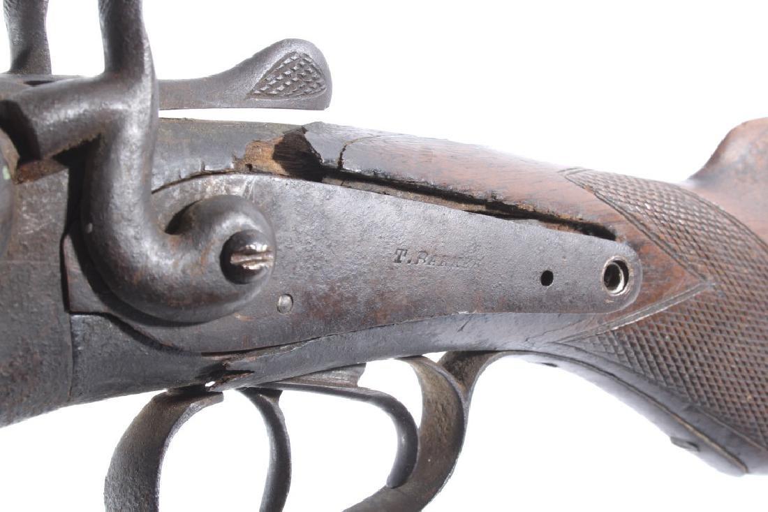 T. Barker 12 Gauge Side By Side Shotgun - 19