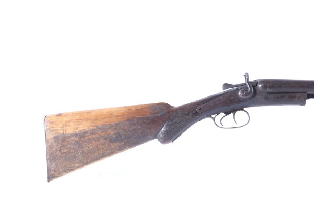 T. Barker 12 Gauge Side By Side Shotgun - 2
