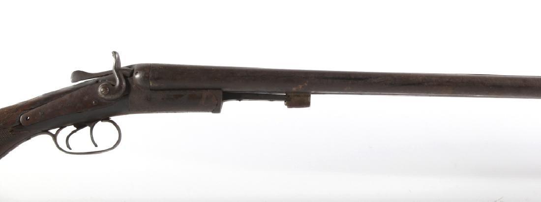 T. Barker 12 Gauge Side By Side Shotgun - 3