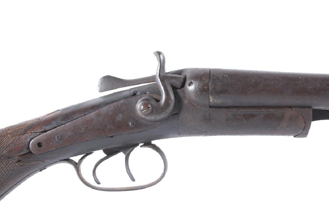 T. Barker 12 Gauge Side By Side Shotgun - 5