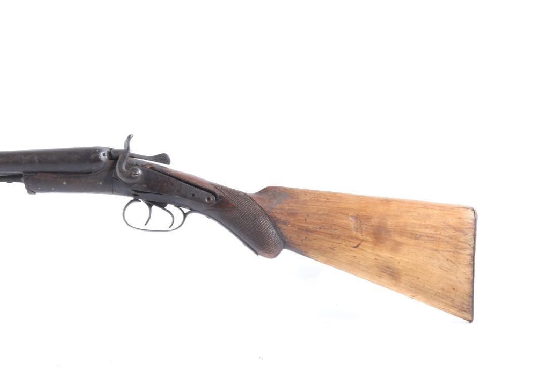 T. Barker 12 Gauge Side By Side Shotgun - 7
