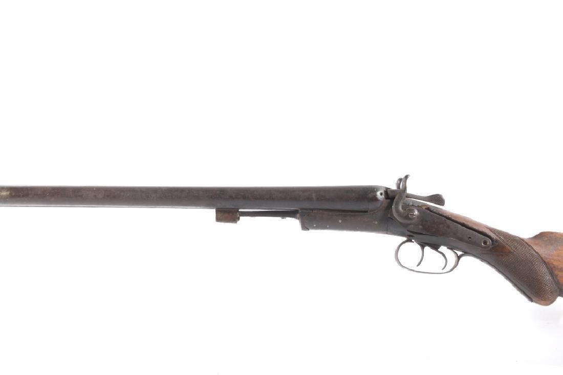 T. Barker 12 Gauge Side By Side Shotgun - 8