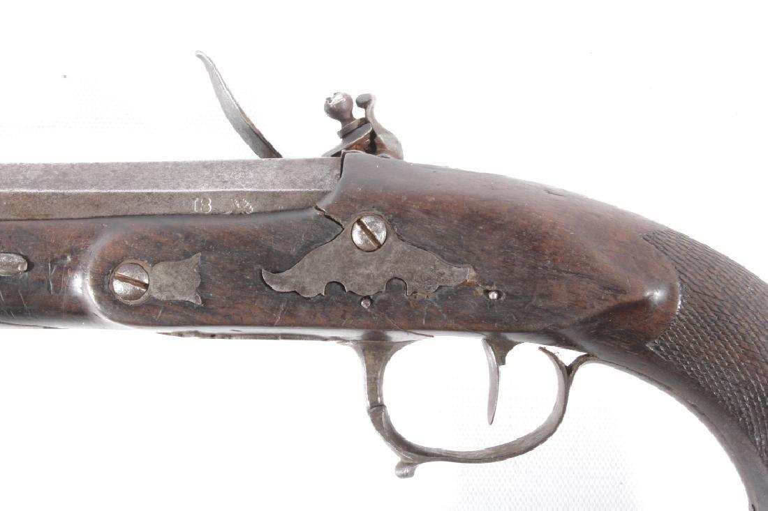 Imperial Russian Flintlock .72 G Percussion Pistol - 7