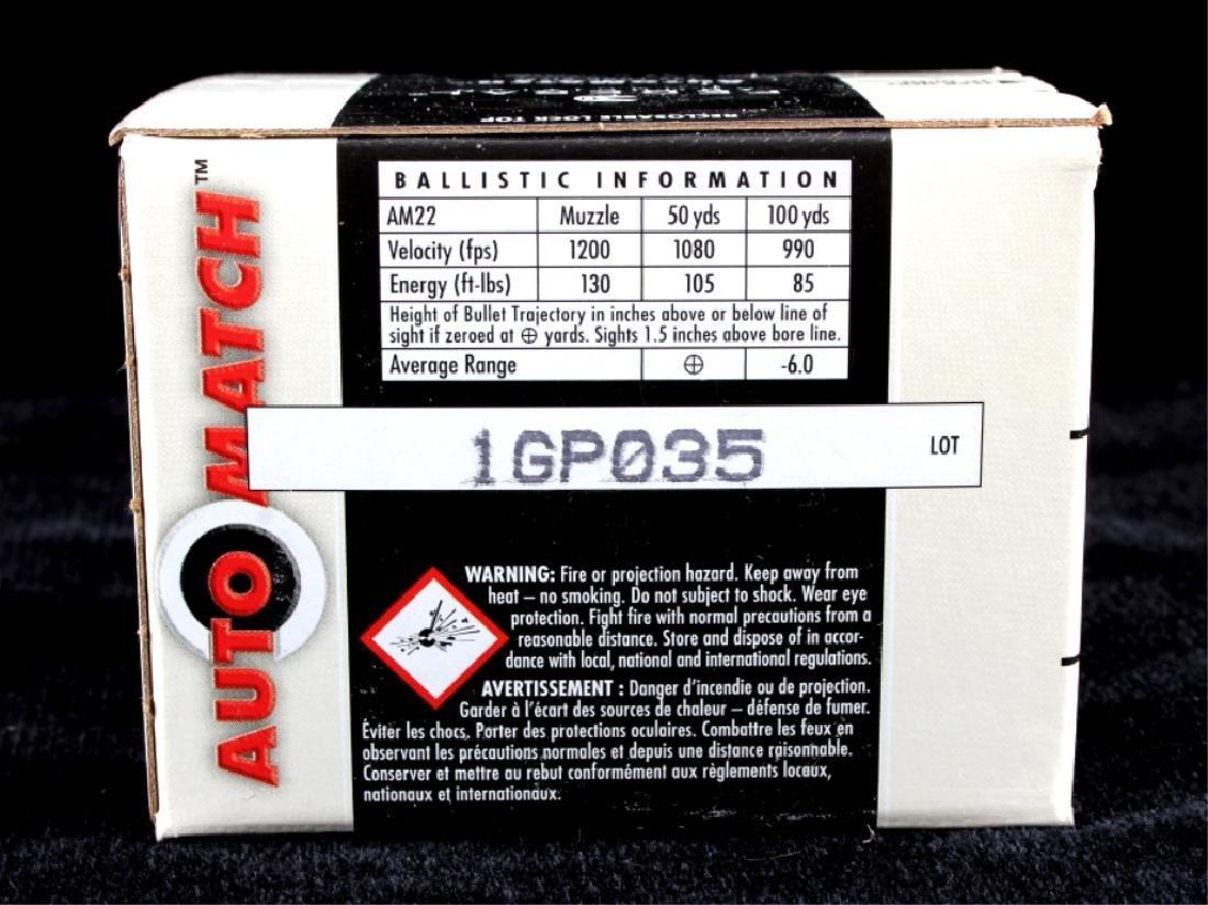 3,250 Rounds .22LR Federal Automatch Ammunition - 6