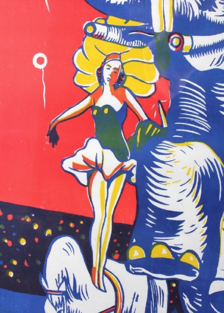 Original John Hall Wild Animal Circus Poster - 5