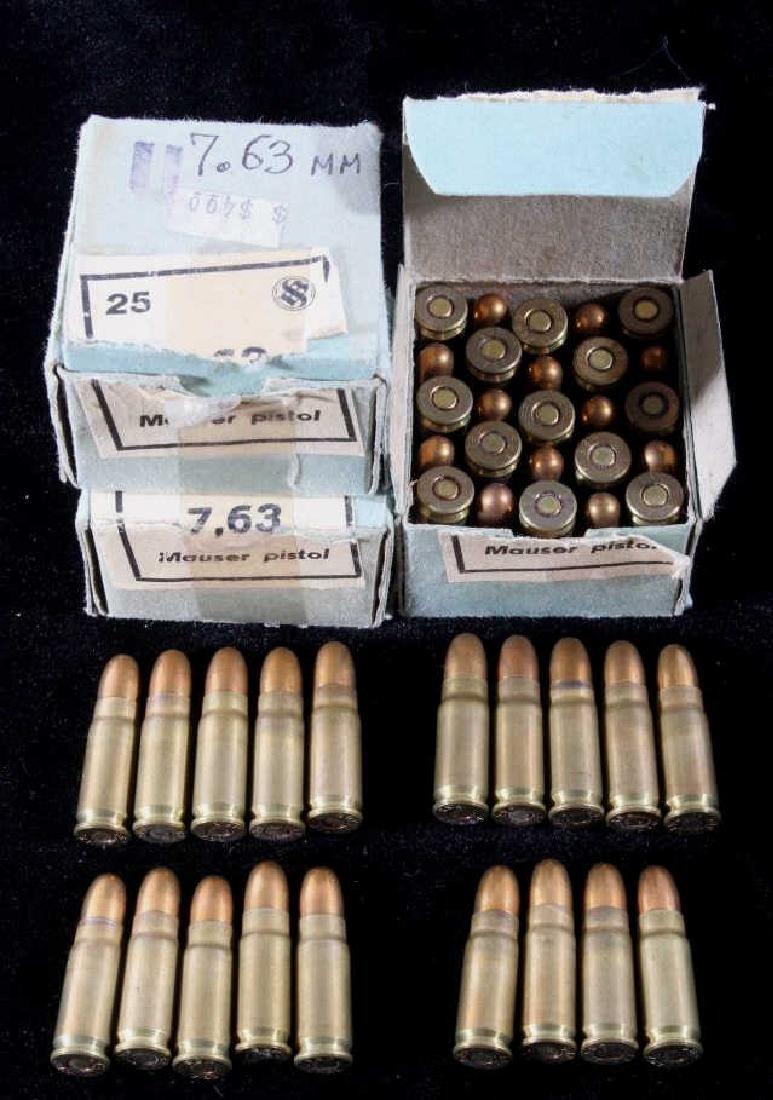 Mauser Pistol 7.63x25mm Ammo 69 Rds.