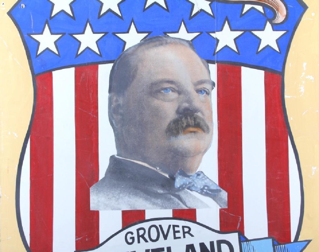 Grover Cleveland Campaign Folk Art Poster - 2