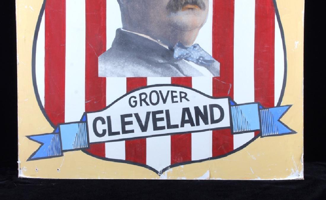 Grover Cleveland Campaign Folk Art Poster - 3