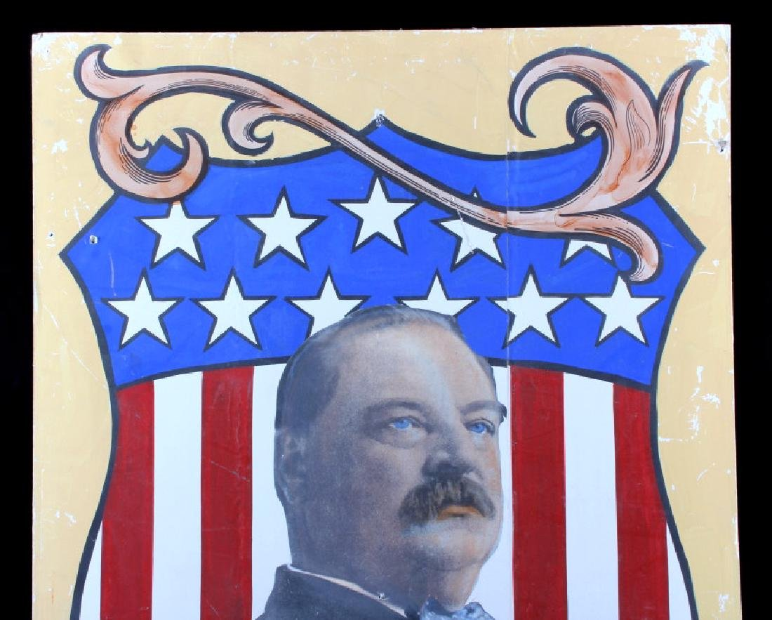 Grover Cleveland Campaign Folk Art Poster - 4