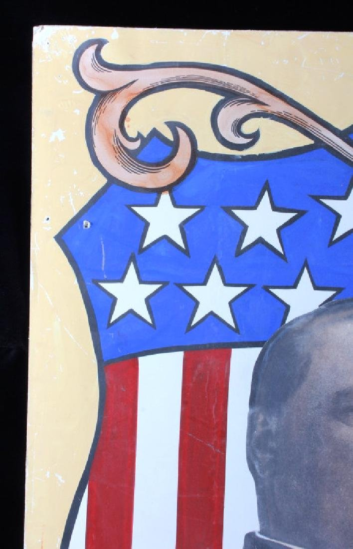 Grover Cleveland Campaign Folk Art Poster - 5
