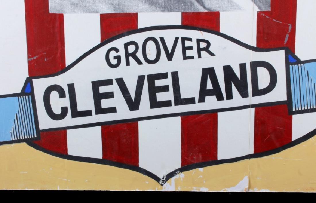Grover Cleveland Campaign Folk Art Poster - 7