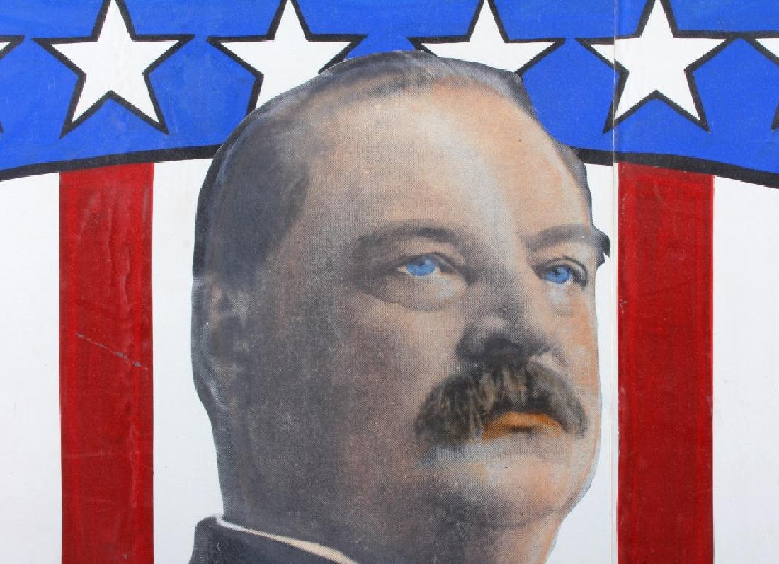 Grover Cleveland Campaign Folk Art Poster - 8