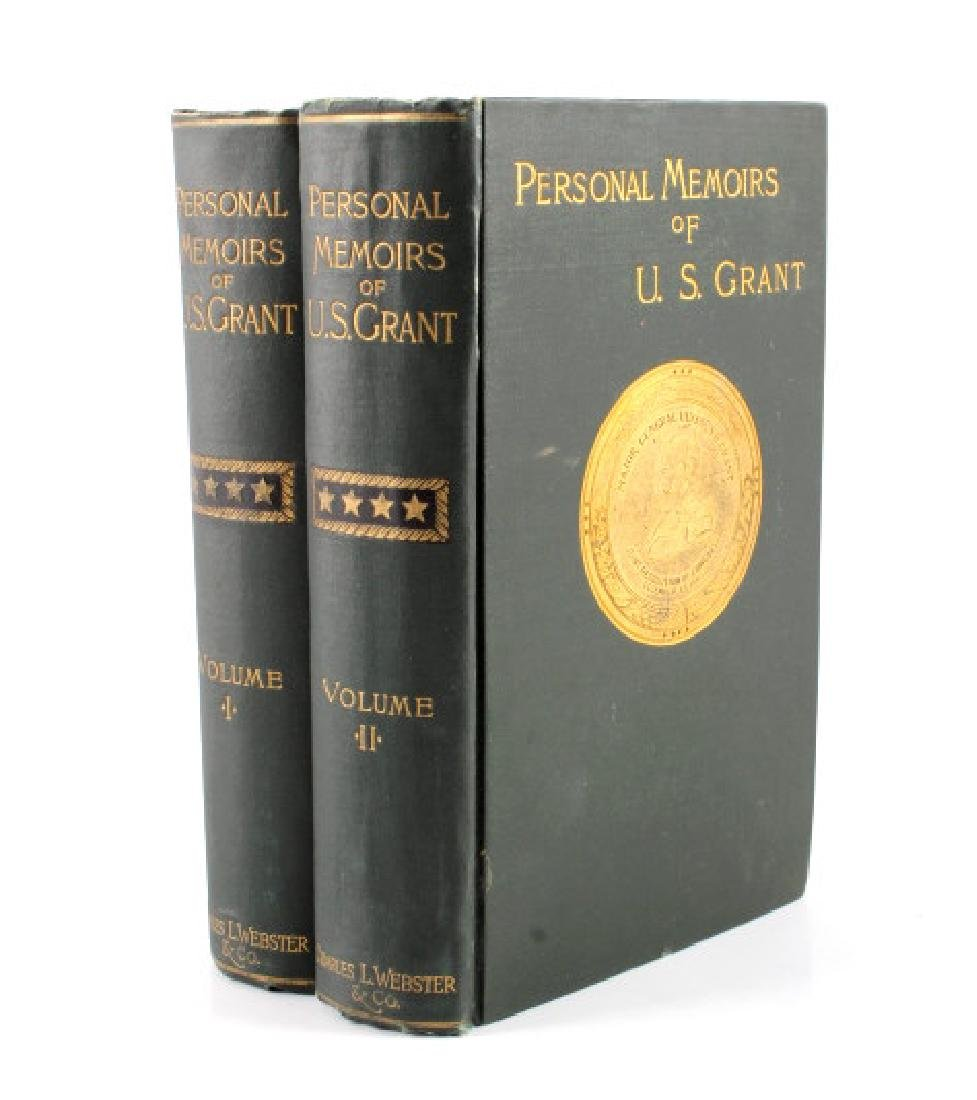 1885 Personal Memoirs of U.S. Grant First Edition