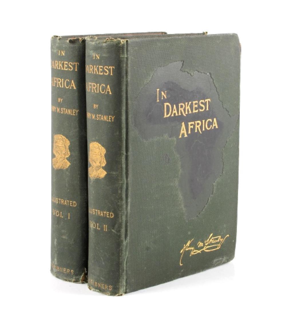 In Darkest Africa By H.M. Stanley First Ed. 1890