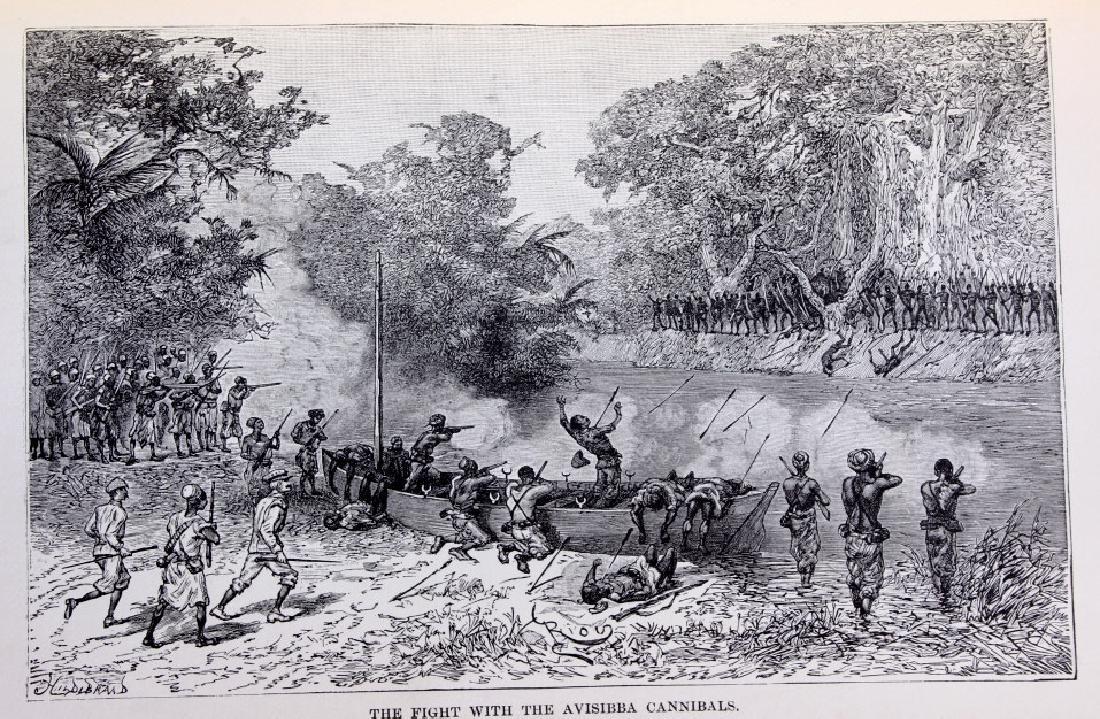 In Darkest Africa By H.M. Stanley First Ed. 1890 - 4