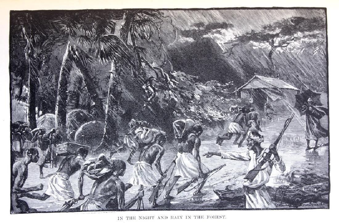 In Darkest Africa By H.M. Stanley First Ed. 1890 - 5