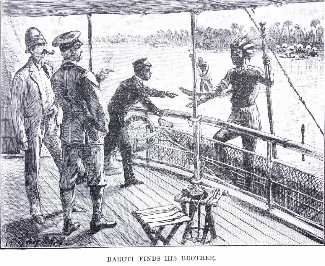 In Darkest Africa By H.M. Stanley First Ed. 1890 - 6