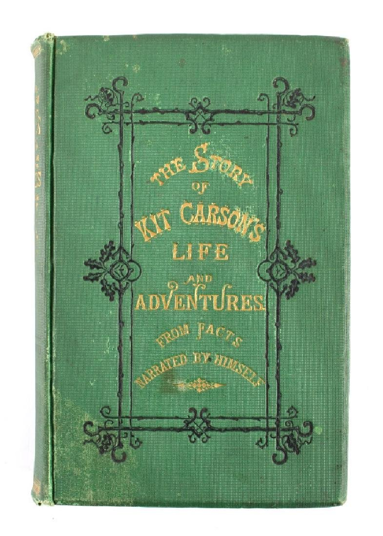 Story of Kit Carson's Life and Adventures 1874 - 12