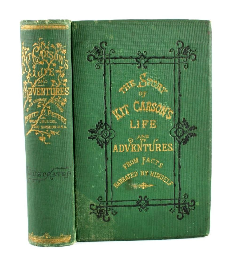 Story of Kit Carson's Life and Adventures 1874 - 2