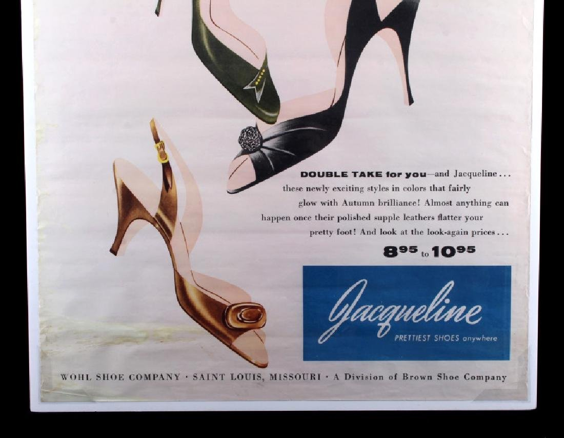 Original Wohl Shoe Company Advertising Poster - 2