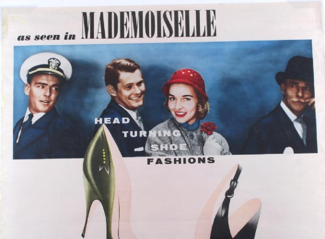 Original Wohl Shoe Company Advertising Poster - 3