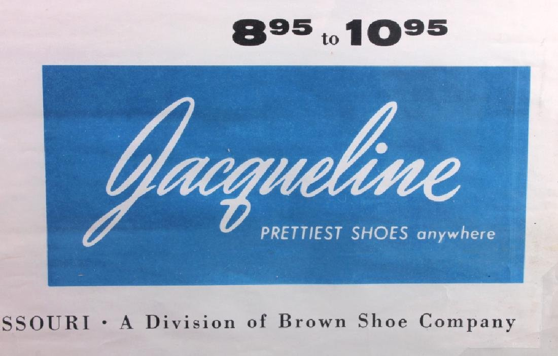 Original Wohl Shoe Company Advertising Poster - 5