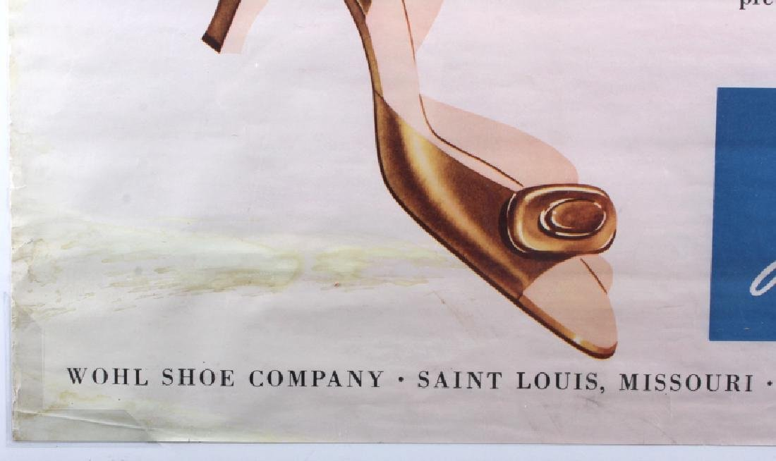 Original Wohl Shoe Company Advertising Poster - 8