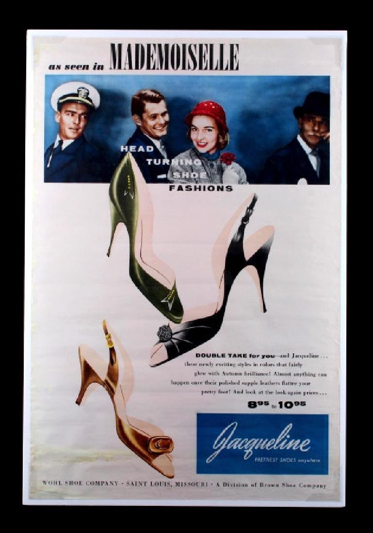 Original Wohl Shoe Company Advertising Poster - 9