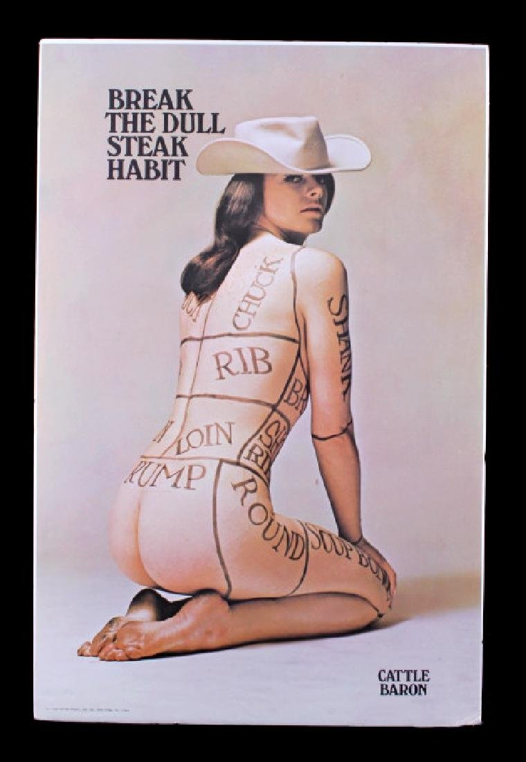 1960's Cattle Baron Poster