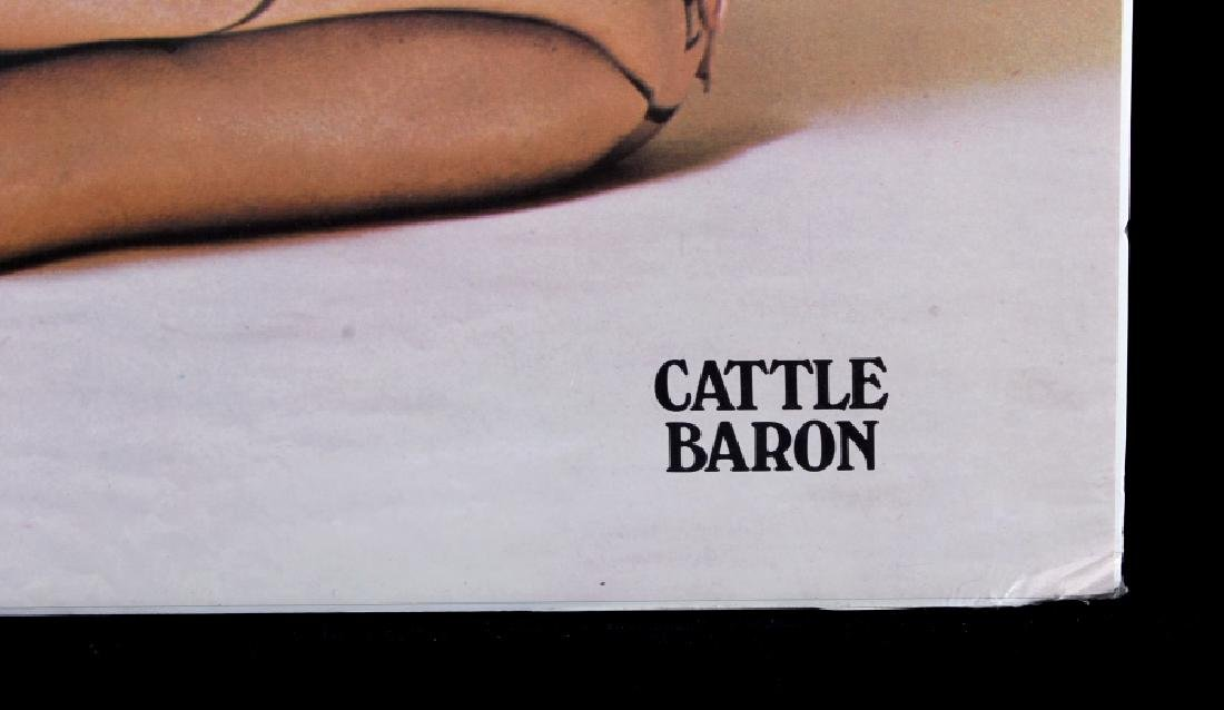 1960's Cattle Baron Poster - 3