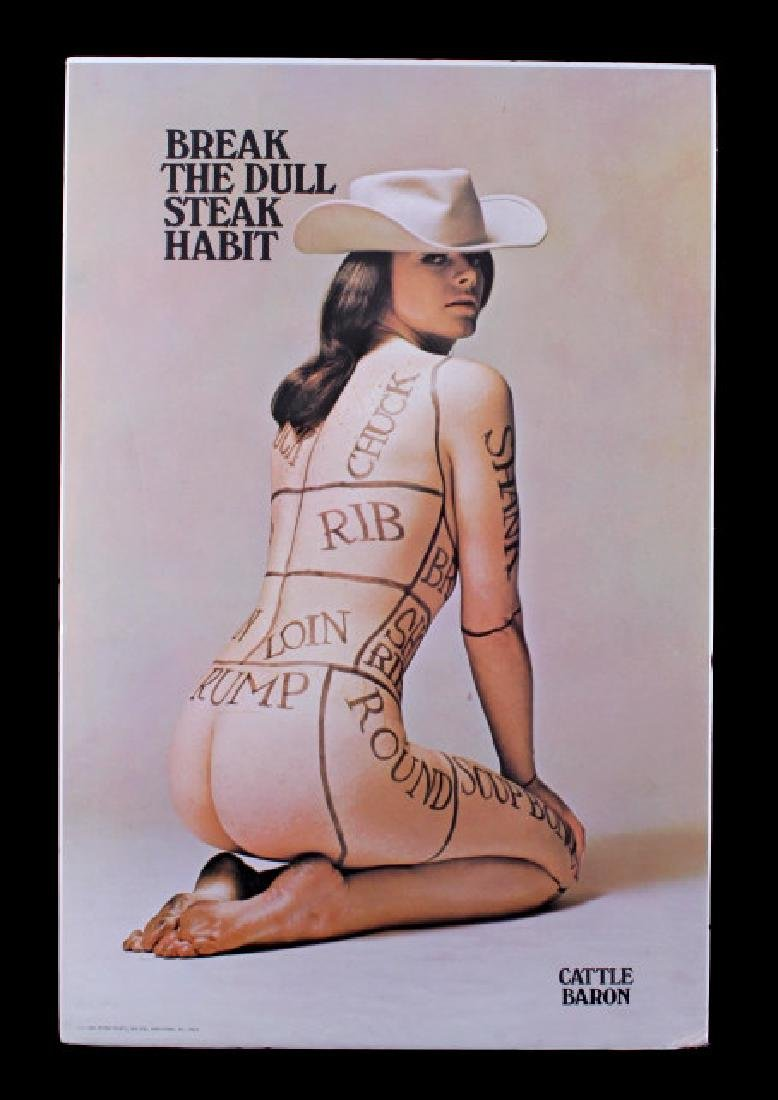 1960's Cattle Baron Poster - 8