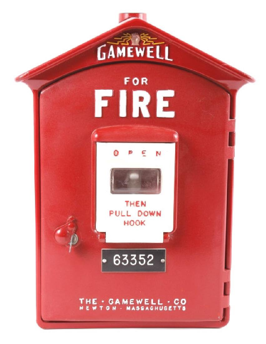 Gamewell Fire Alarm Switch Box