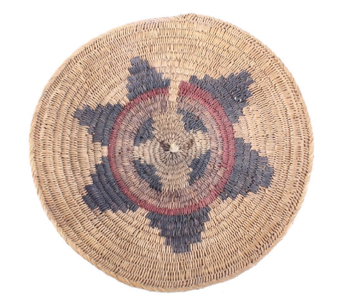 Navajo Traditional Coil Wedding Basket 19th C.