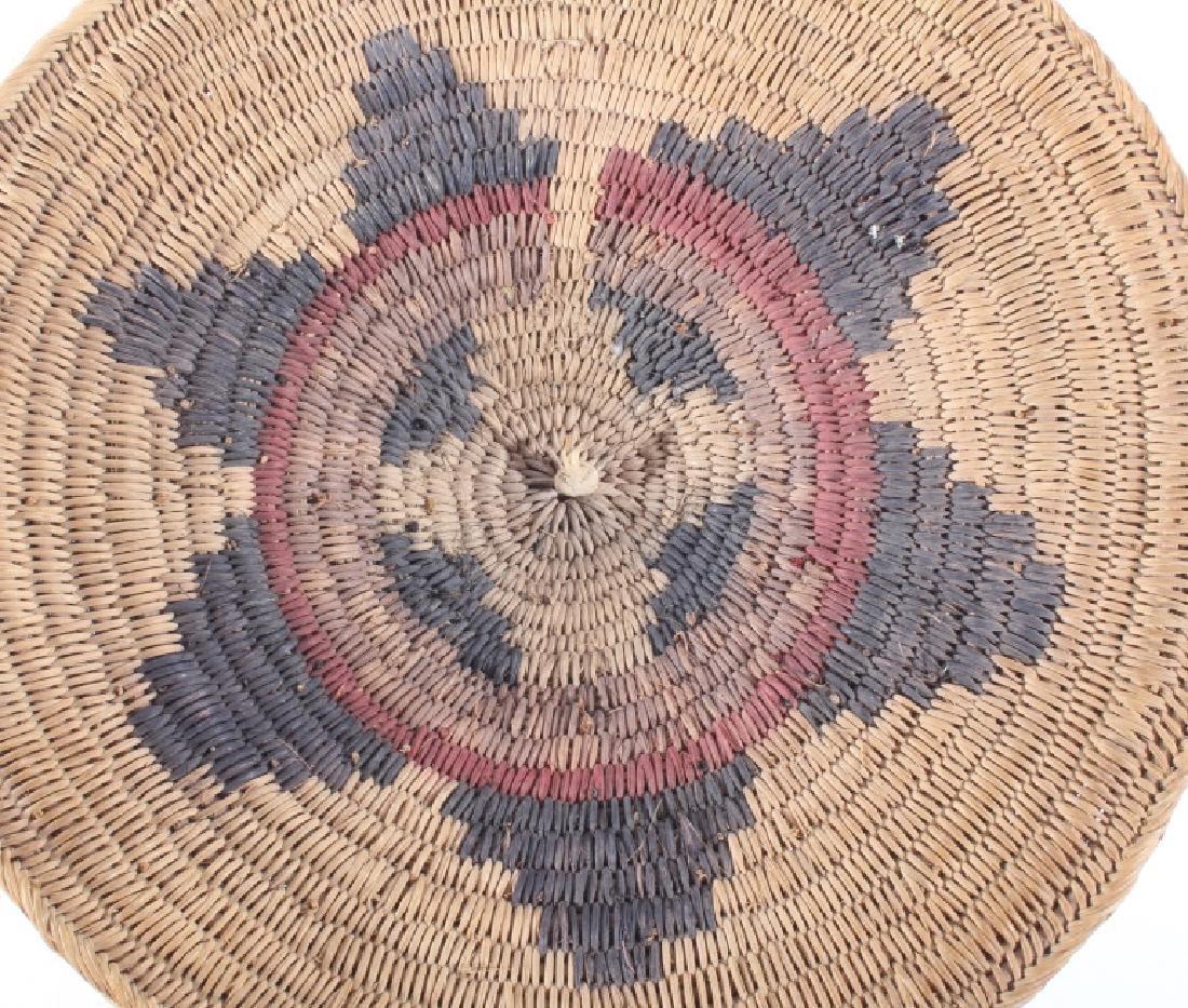 Navajo Traditional Coil Wedding Basket 19th C. - 2