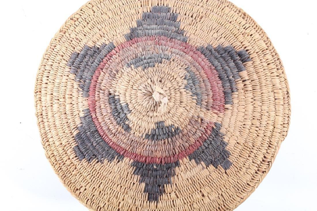 Navajo Traditional Coil Wedding Basket 19th C. - 4