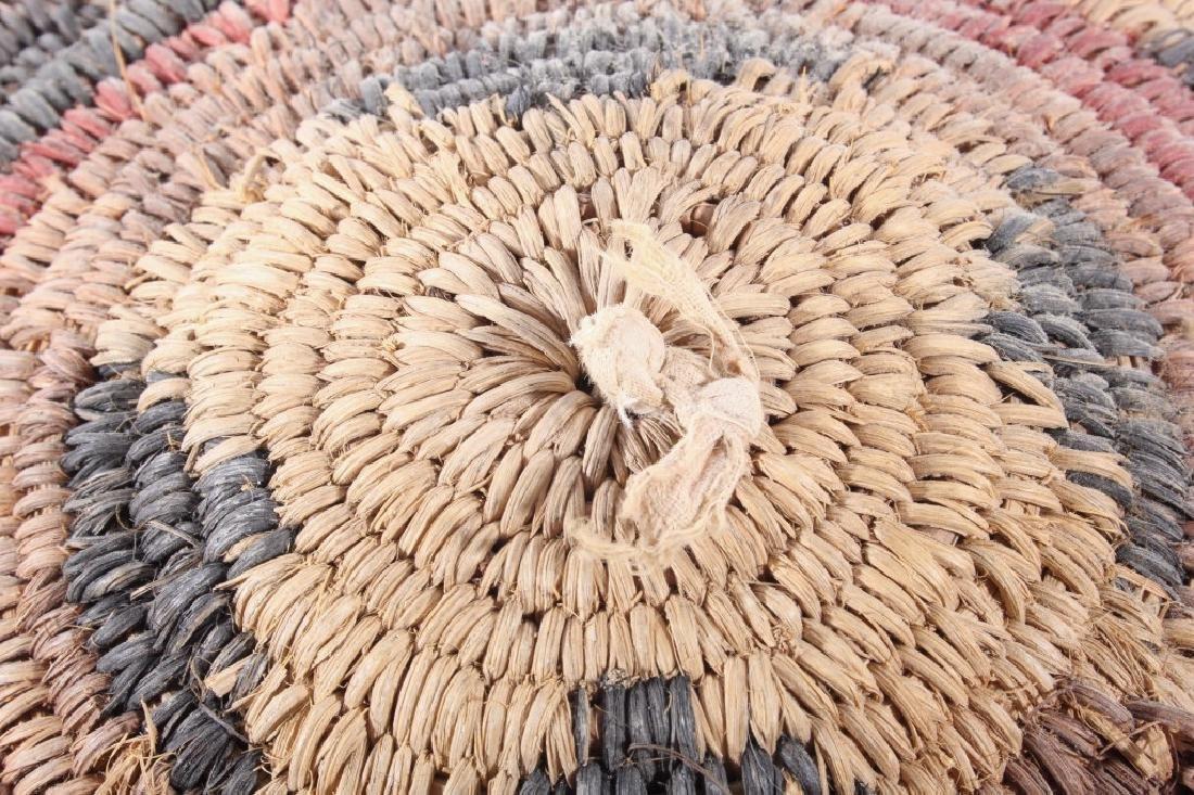 Navajo Traditional Coil Wedding Basket 19th C. - 6