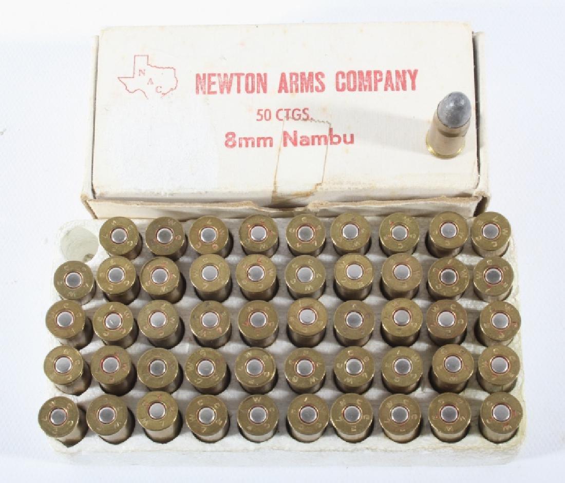 Scarce Unfired 8mm Nambu Pistol Ammunition 80 Rds.